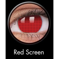Red BLIND SCREEN